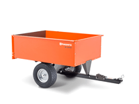 16 cu ft Steel Swivel Dump Cart
