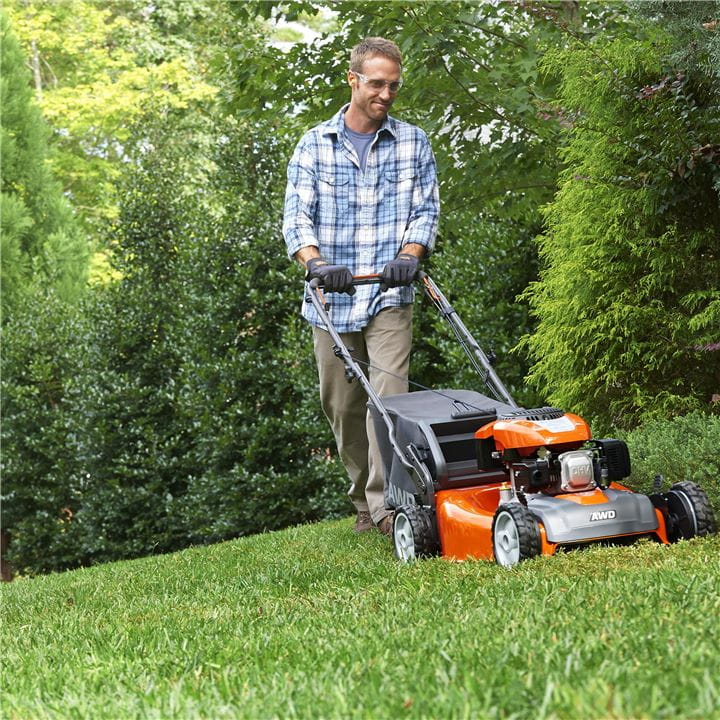 Save time and effort with the efficiency and ergonomics of a Husqvarna Lawn Mower
